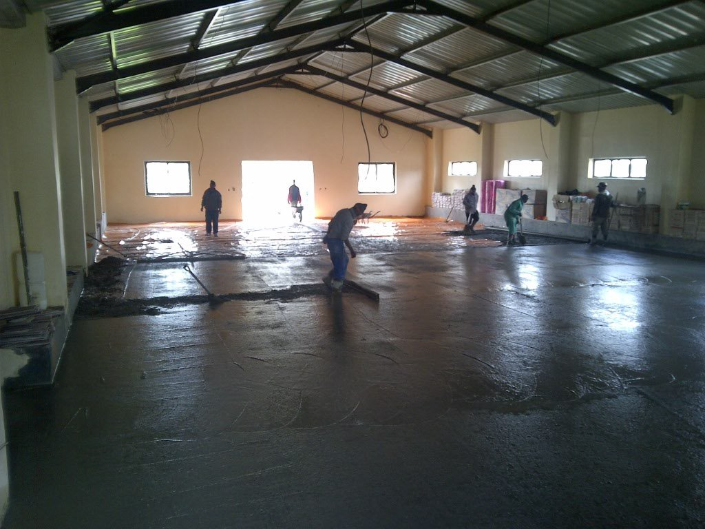 Venue hall near completion